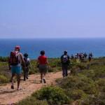 Verso la spiaggia di Calamosche